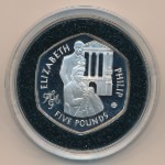 Олдерни, 5 фунтов (2007 г.)