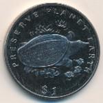Либерия, 1 доллар (1994 г.)