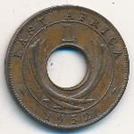 East Africa, 1 cent, 1949–1952