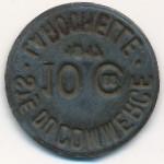 Ла-Рошель., 10 сентим (1917 г.)