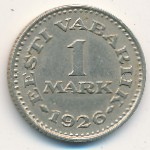 Estonia, 1 mark, 1926
