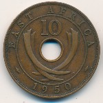 East Africa, 10 cents, 1949–1952