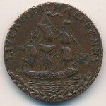 Liverpool, 1/2 penny, 1791–1794