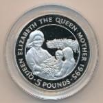 Олдерни, 5 фунтов (1995 г.)