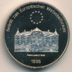 Liechtenstein, 5 ecu, 1995