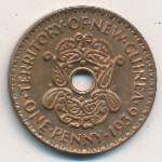 New Guinea, 1 penny, 1936