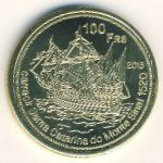 French Southern & Antarctic Territories, 100 francs, 2013