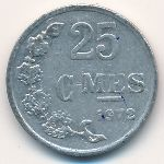 Люксембург, 25 сентим (1954–1972 г.)