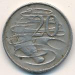 Австралия, 20 центов (1967 г.)