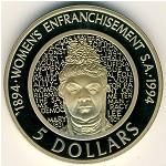 Австралия, 5 долларов (1994 г.)