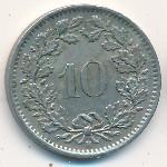 Швейцария, 10 раппенов (1885–2011 г.)