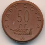 Гота., 50 пфеннигов (1921 г.)