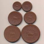 Шлейц., Набор монет (1922 г.)