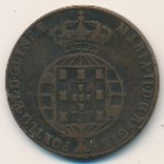 Ангола, 1/2 макуты (1853 г.)