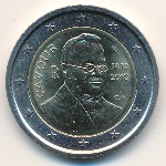 Италия, 2 евро (2010 г.)
