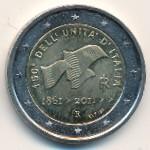 Италия, 2 евро (2011 г.)