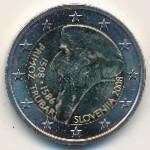 Словения, 2 евро (2008 г.)