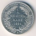 German New Guinea, 1 mark, 1894