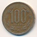 Чили, 100 песо (1989–2000 г.)