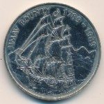Pitcairn Islands, 1 dollar, 1989