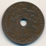 French Indo China, 1 cent, 1896–1906