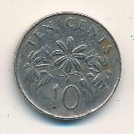 Сингапур, 10 центов (1986–1991 г.)