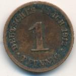 Германия, 1 пфенниг (1890–1916 г.)