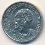Vatican City, 20 centesimi, 1929–1937