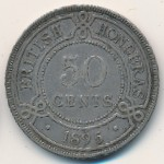 British Honduras, 50 cents, 1894–1901