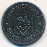Бад-Бергцаберн., 10 пфеннигов (1917 г.)