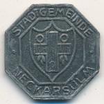 Неккарзульм., 10 пфеннигов (1919 г.)