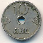 Норвегия, 10 эре (1924–1951 г.)