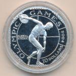Острова Кука, 10 долларов (2001 г.)