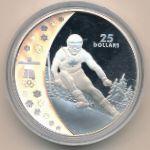 Канада, 25 долларов (2007 г.)
