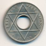 British West Africa, 1/10 penny, 1938–1947