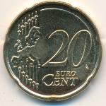 Латвия, 20 евроцентов (2014 г.)