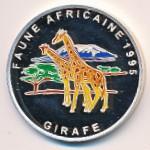 Конго, 1000 франков (1995 г.)