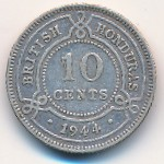 British Honduras, 10 cents, 1939–1946