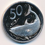 Cook Islands, 50 cents, 1978