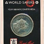 Медали, Медаль (1989 г.)