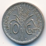 French Indo China, 10 cents, 1939–1941