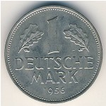 West Germany, 1 mark, 1950–2001