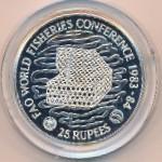 Сейшелы, 25 рупий (1983 г.)