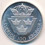Швеция, 100 крон (1985 г.)