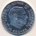 Дания, 10 крон (1972 г.)