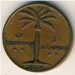 Dominican Republic, 1 centavo, 1937–1961