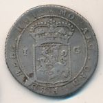 Netherlands East Indies, 1 gulden, 1802