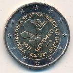 Словакия, 2 евро (2011 г.)