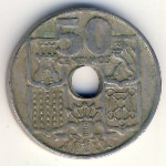 Испания, 50 сентимо (1949–1963 г.)