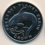 Остров Мэн, 1 крона (1996 г.)